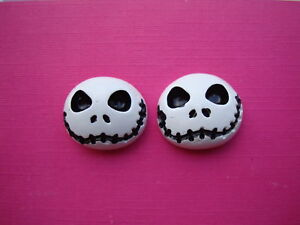FUNKY-WHITE-JACK-EARRINGS-NIGHTMARE-KITSCH-EMO-CUTE