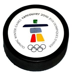 BRAND-NEW-OFFICIAL-2010-VANCOUVER-OLYMPIC-HOCKEY-PUCK
