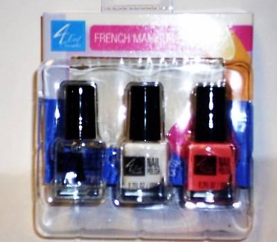 French Manicure Set 3 Pack Nail Polish Perfect Manicure