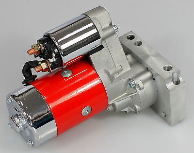 SBC BBC CHEVY HIGH TORQUE MINI STARTER 3HP RED JM-7001-R