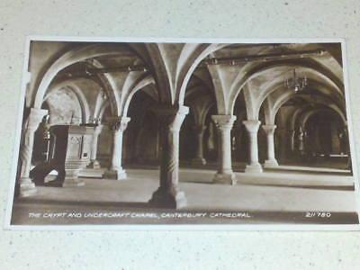 Canterbury Cathedral #14 postcard