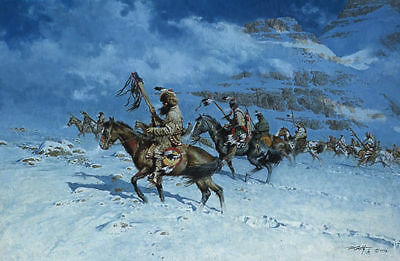 Frank Mccarthy   Snow Moon   Ltd Ed