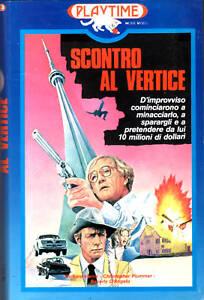 SCONTRO-AL-VERTICE-1981-VHS-Playtime-Richard-HARRIS-cult-VHS