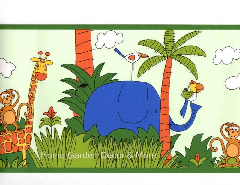 zebra wallpaper border. Zebra Wall Border   eBay