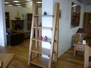 Image Is Loading Vancouver Pee Premium Solid Oak 5 Shelf Bookcase
