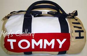 Tommy-Hilfiger-Hand-Bag-Tote-Travelling-Sm-Duffle-Duffel-School-Backpack-NWT