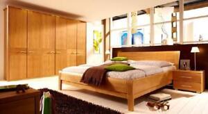 Aveon, Schlafzimmer Erle, Birke oder Kernbuche massiv | eBay
