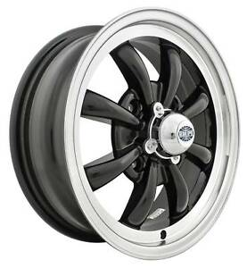 EMPI GT-8 Rim 5.5 X 15  Black wheel VW bug  Type 1 2 3