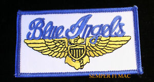 US-NAVY-BLUE-ANGELS-PILOT-HAT-PATCH-USS-US-MARINES-PILOT-WING-AIRSHOW-WOW