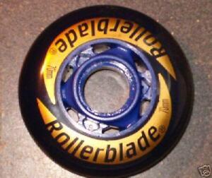 8-inline-wheels-by-Darkblue-Rollerblade-NEW-70-mm-82a
