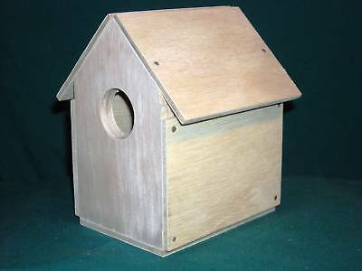 Wren House Kit (Wren Bird House Kits.  Nail together Scout project. Hand made in USA)