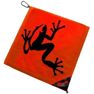 Authentic Frogger Amphibian Golf Towel Red Free Champ Tees