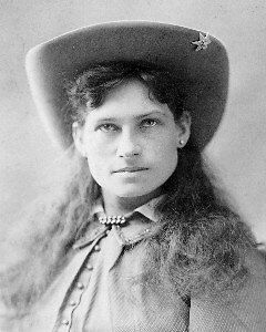 Annie Oakley #1 Photo 8X10  Western Cowboy Cowgirl