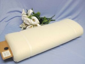 "108""× 50 YARDS IVORY TULLE for DECORATION (FREE SHIPP)"