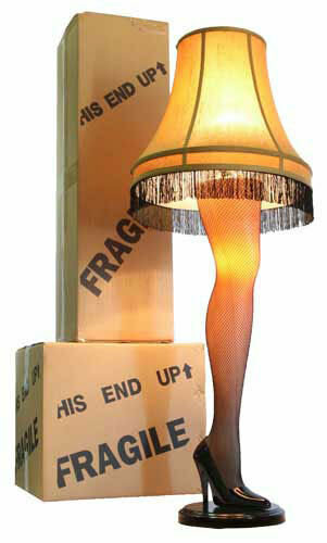 Купить 45 Inch Full Size Leg Lamp from A Christmas Story