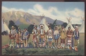 Postcard-ARIZONA-NEW-MEXICO-Apache-Indian-Reservation