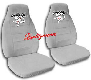 COOL SET COWGIRL DESIGN CAR SEAT COVERS CHOOSE COLORS