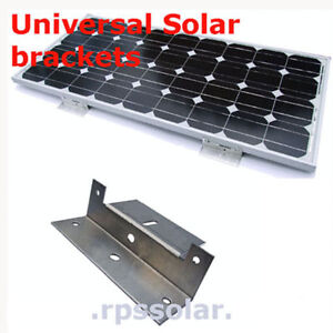 4 X SOLAR PANEL EASY FIT HEAVY DUTY FIXING BRACKETS