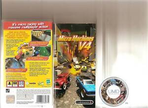 micro machines v4 sony psp handheld racing ebay. Black Bedroom Furniture Sets. Home Design Ideas