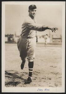 1929 Orig 1st Gen Press Photo - Jimmy Zinn, Indians