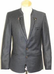BLUE ~ BOILED WOOL Men German Hunting SPORT Dinner Dress Suit JACKET Coat 39
