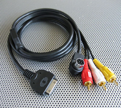 Ipod To Jvc Vedio Headunit Cable Ref:pxp-jvc1