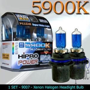 9007-5900K-XENON-HALOGEN-HEADLIGHT-BULBS-1996-2004-2005-2006-2007-DODGE-CARAVAN
