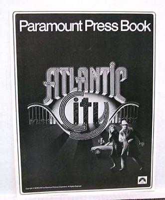 1981 Pressbook ATLANTIC CITY Burt Lancaster Sarandon