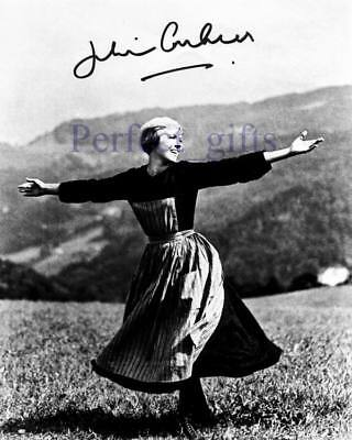 JULIE ANDREWS SIGNED PP PHOTO THE SOUND OF MUSIC