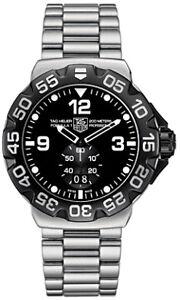 NEW-TAG-HEUER-FORMULA-1-WAH1010-BA0854-GRANDE-DATE-STEEL-QUARTZ-BLACK-F1-WATCH