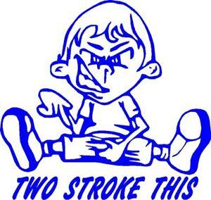 Stroke This Dirt BikeEnduroMotorcycle Sticker EBay - Motorcycle stickers