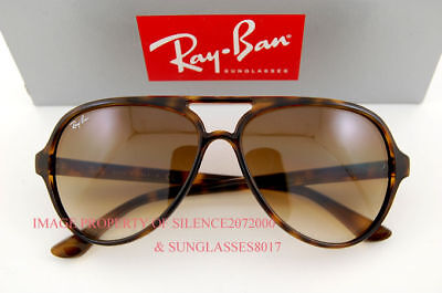 New Ray-Ban Sunglasses RB 4125 CATS 5000 710/51 HAVANA on Rummage