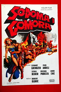 SODOM & GOMORRAH ROBERT ALDRICH 1962 EXYU MOVIE POSTER