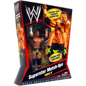TRIPLE-H-WWE-MATTEL-SUPERSTAR-MATCHUPS-W-DX-ELBOW-PADS