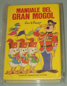 PRL-MANUALE-DEL-GRAN-MOGOL-MONDADORI-1980-WALT-DISNEY-GIOVANI-MARMOTTE-GUIDA
