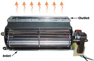 new quiet 75 cfm universal fireplace blower gas insert
