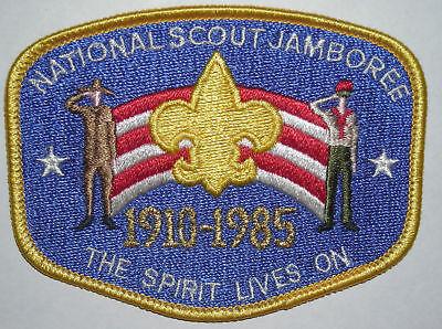 1985 National Boy Scout Jamboree Pocket Patch MINT! Jambo Jam NJ