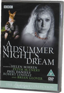 A Midsummer Nights Dream BBC Shakespeare DVD New Sealed