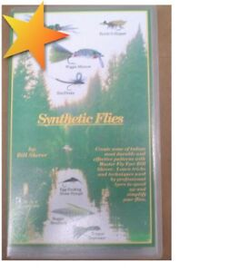 NEW-Synthetic-Flies-By-Bill-Sherer-VHS-WX19379
