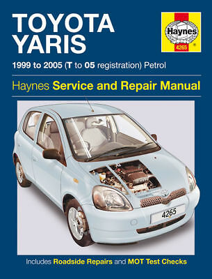 Haynes Workshop Repair Manual Toyota Yaris 99 - 05