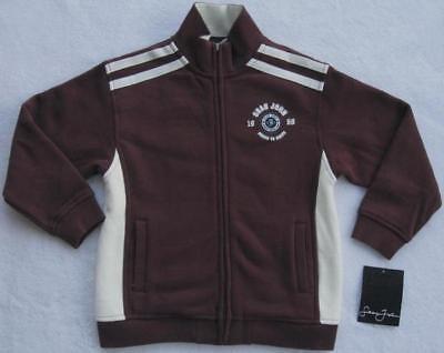 Sean John Boys Burgundy Sweat Jacket(size 4t)