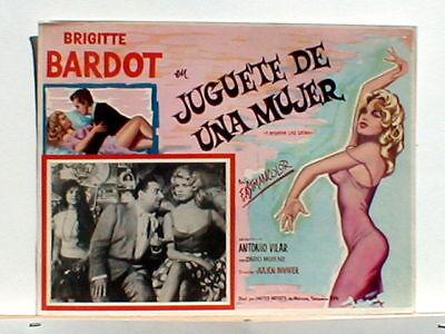 Lobby Card A Woman Like Satan Brigitte Bardot 1959