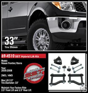 Readylift Sst Lift Kit 2005 2012 Frontier Xterra 2wd 4wd 2
