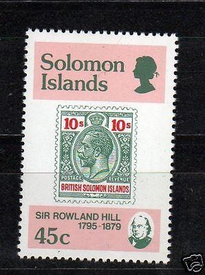 SALOMANINSELN 1979 100. TODESTAG SIR ROWLAND HILL