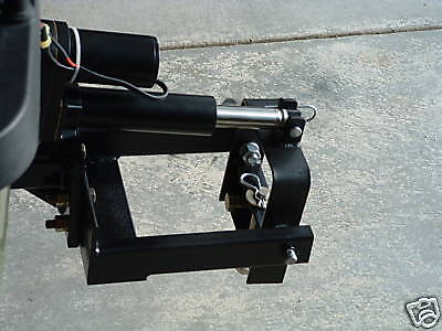 ELECTRIC SLEEVE HITCH FOR ATV OR UTV, GARDEN TRACTOR ,