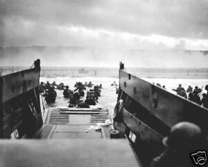 THE-COAST-GUARD-AT-NORMANDY-OMAHA-BEACH-8X10-PHOTO-WWII