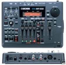 BOSS BR-532 4 TRACK DIGITAL RECORDING STUDIO + 128MB CARD & POWER SUPPLY