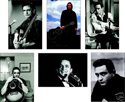 Johnny Cash Walk the Line POSTCARD Set