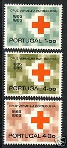 POTUGAL RED CROSS SCOTT 955-957 MNH s1696