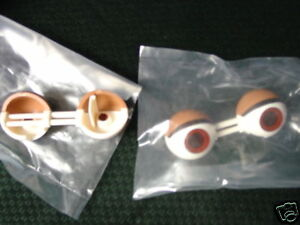 WORLDS-OF-WONDER-TEDDY-RUXPIN-ONE-SET-OF-EYES-NEW